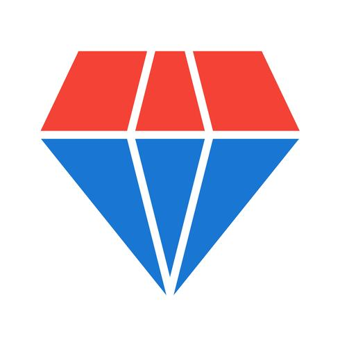 diamant pictogram ontwerp vector