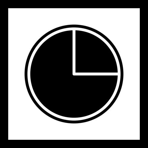 cirkeldiagram ikon design