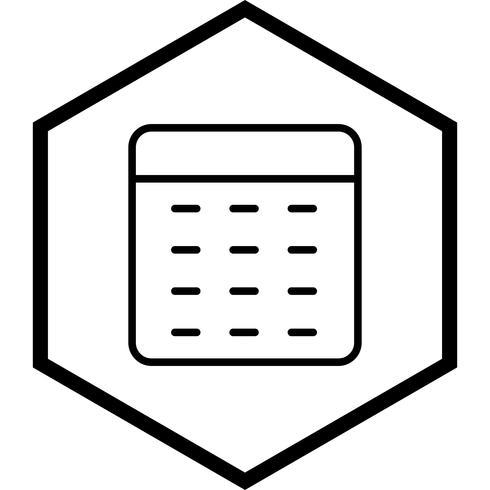 Calculator pictogram ontwerp