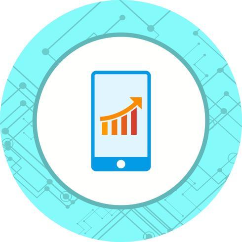Diseño de iconos de marketing móvil vector