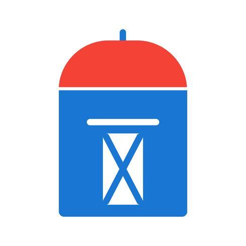 disegno dell'icona postbox