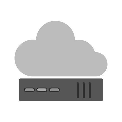 Cloud Icon Design vector