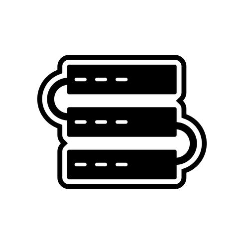 Servers pictogram ontwerp
