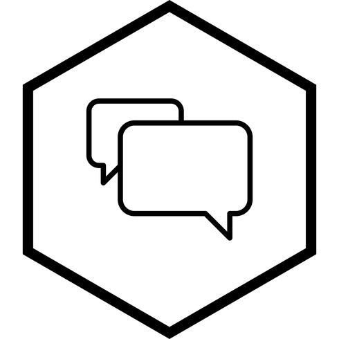 disegno dell'icona di chat