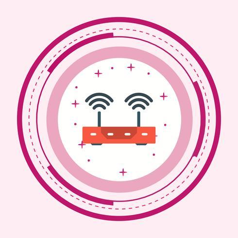 Projeto do ícone do roteador