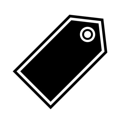 Diseño de icono de etiqueta vector