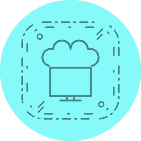 Conectado ao Cloud Icon Design