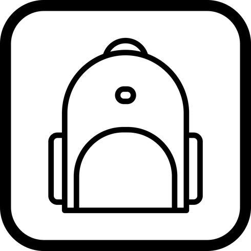 Bagpack Icon Design