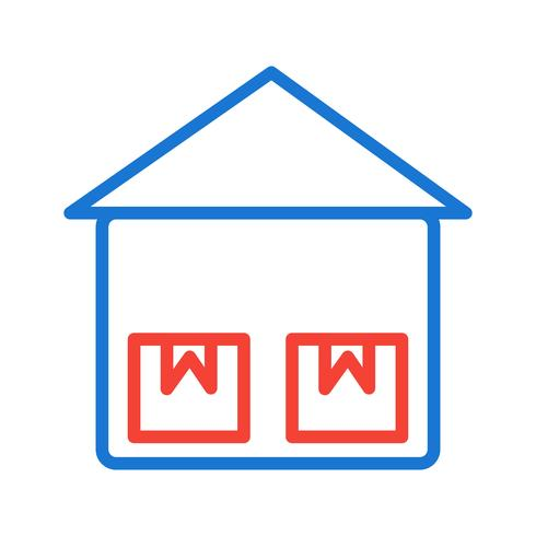 Storage Unit Icon Design vector