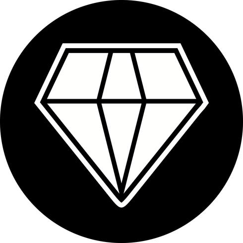 diamant pictogram ontwerp vector