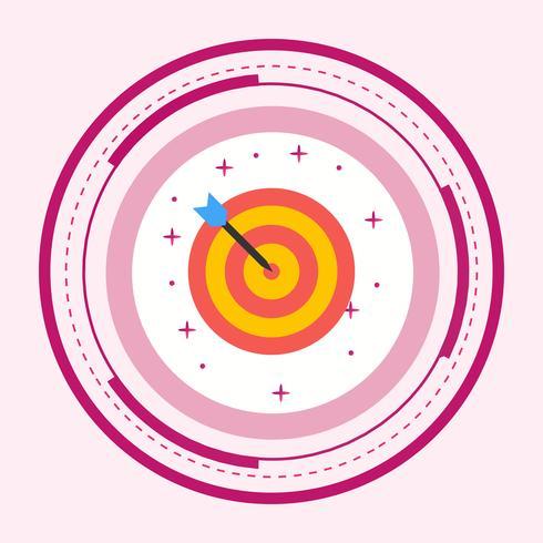Diseño de icono de destino