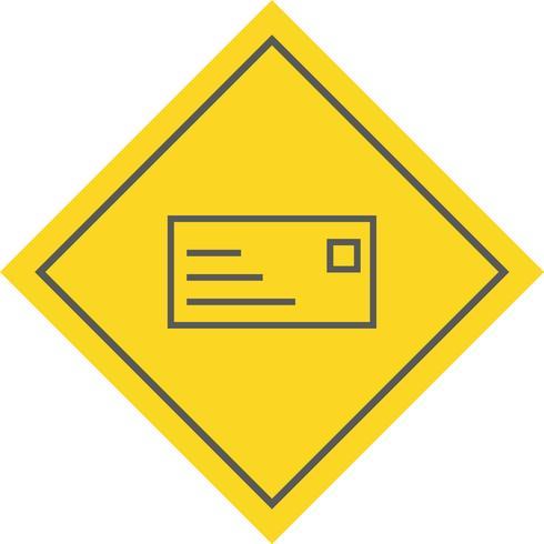 ID-kaart pictogram ontwerp