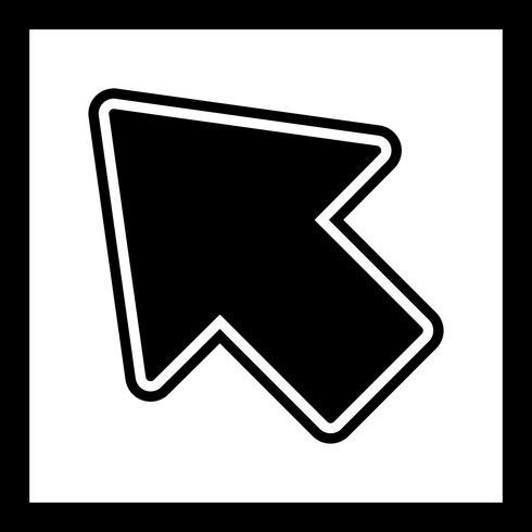 disegno dell'icona del cursore vettore