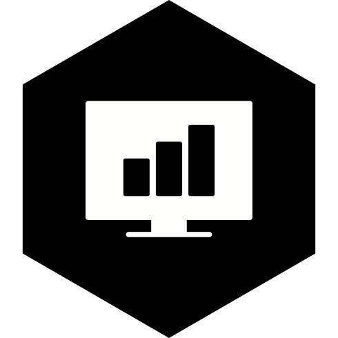 Stats Icon Design vector
