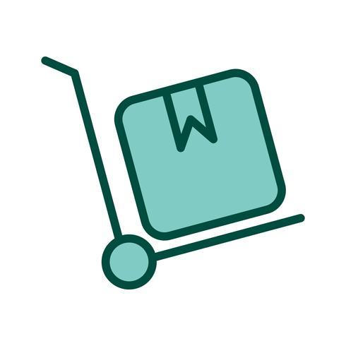 trolley icon design vektor