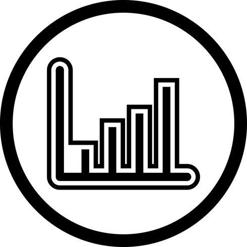 Statistics Icon Design vector