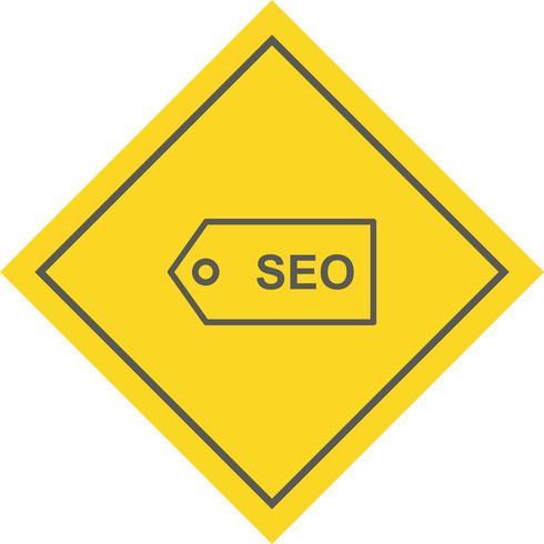 Design de ícone de marca de SEO