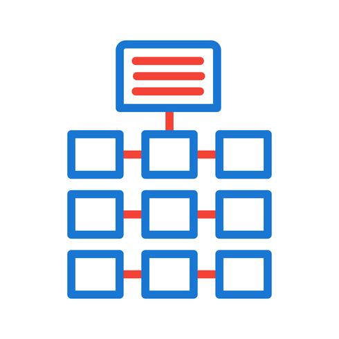 Netzwerk-Icon-Design