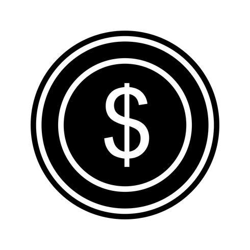 Dollars Coin Icon Design