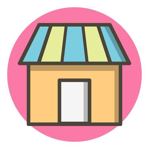 Design de ícone de loja