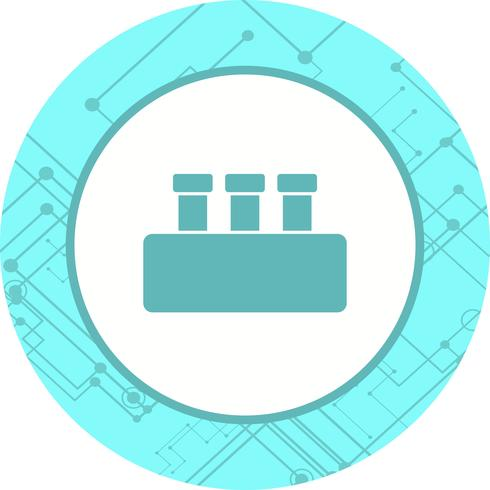 Chemie Set Icon Design