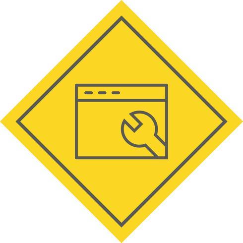Design do ícone de configurações do navegador
