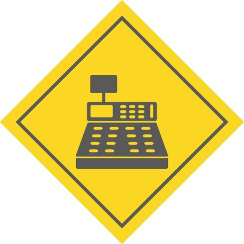 Geldzähler-Icon-Design