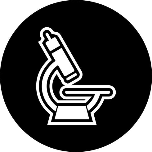 Microscoop Icon Design vector