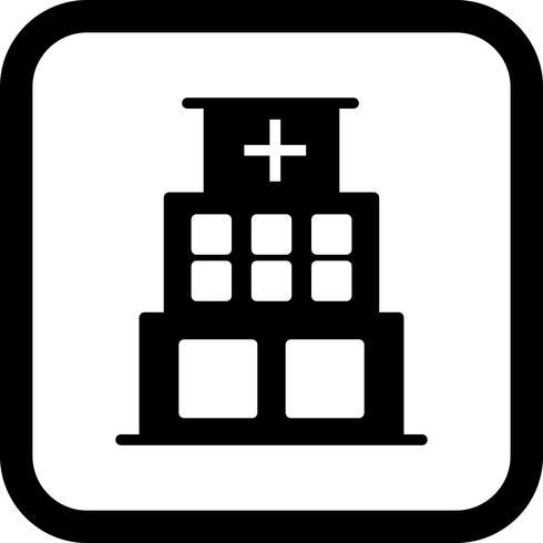 Hospital Icon Design vector