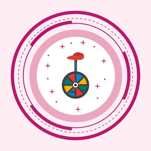 Design de ícone de monociclo