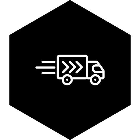 Delivery Truck Icon Design