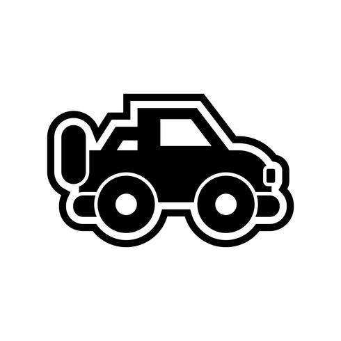Jeep Icon Design vector