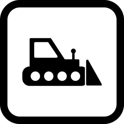 Bulldozer Icon Design