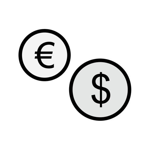 Currencies Icon Design vector