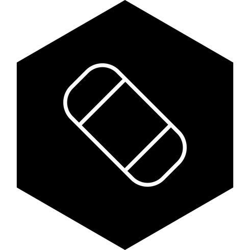 Borrador de icono de diseño vector