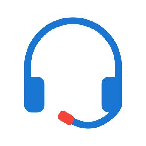 Auriculares Icon Design vector