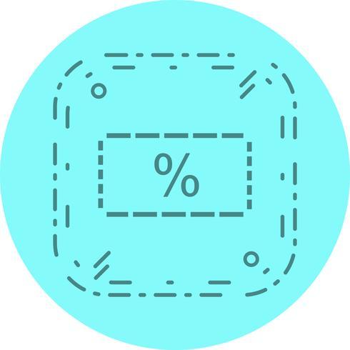 Discount Icon Design vector