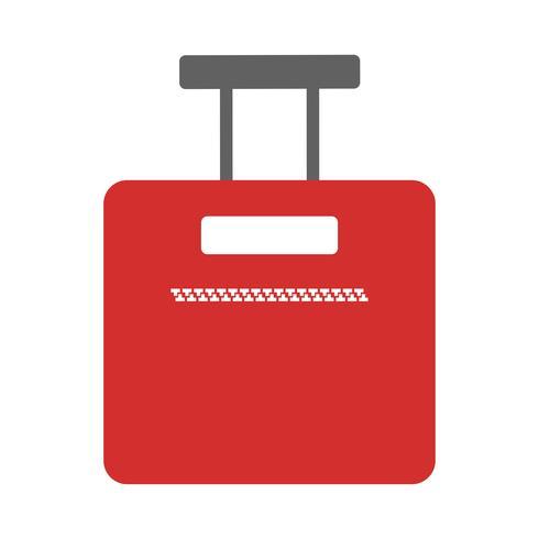 Design de ícone de saco vetor