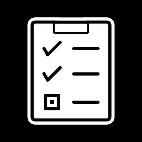 Checklist Icon Design