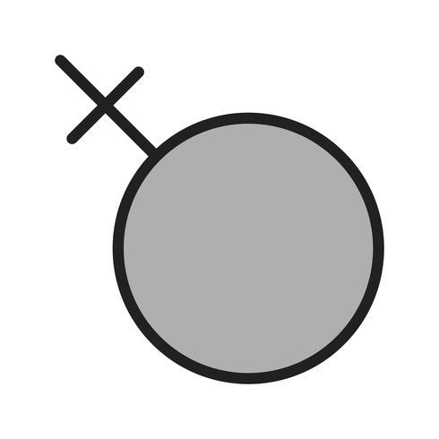 Disegno dell'icona femminile