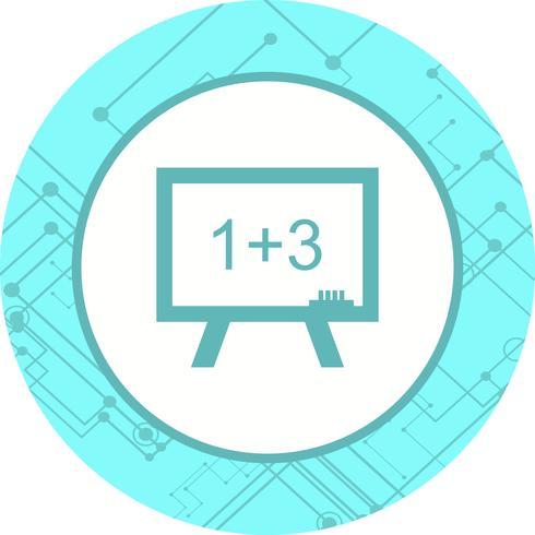 Design de ícone de matemática vetor