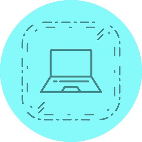 Design de ícone de laptop