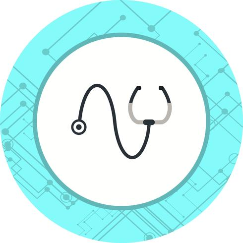 Stéthoscope Icône Design
