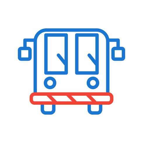 Ícone de ônibus de aeroporto