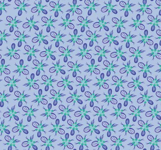 Modello di piastrelle floreali orientali astratte. Ornamento geometrico