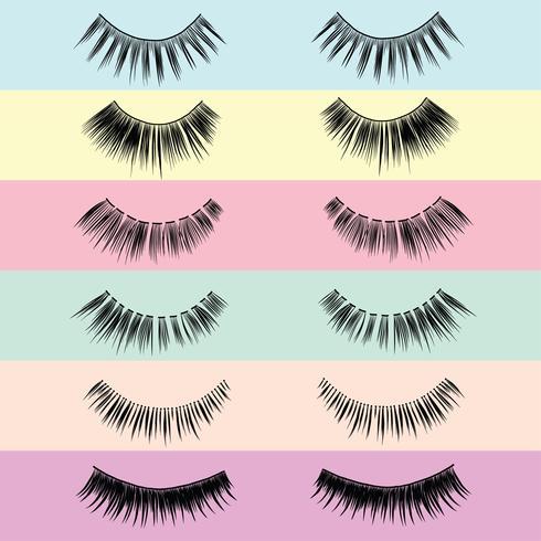 False Eyelashes Styles Pack