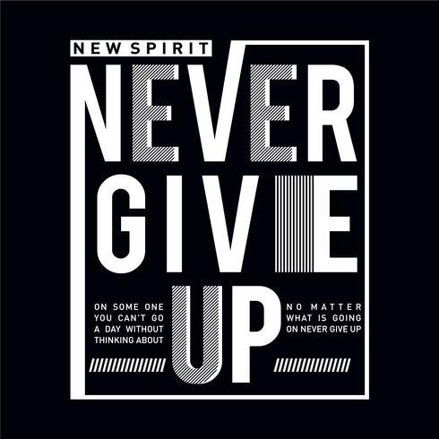 Inspiring motivation quote new spirit black and white
