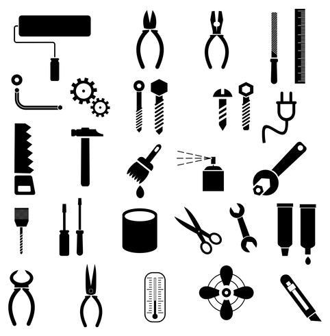 Herramientas - iconos vectoriales