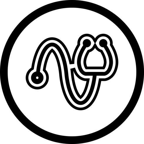 Stethoscoop pictogram ontwerp vector
