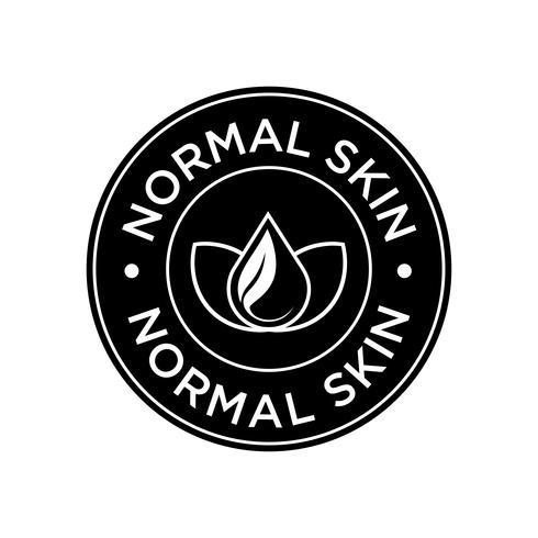 Icône de peau normale.